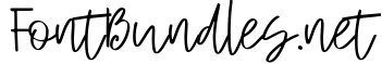 Example 1 of  Font