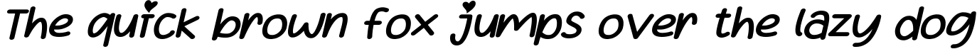 Example 41 of  Font