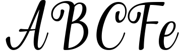 Merchant typeface Sample