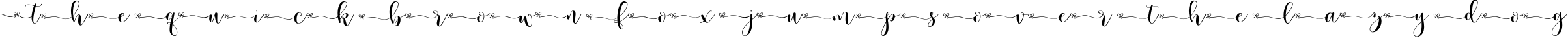 Example 11 of  Font