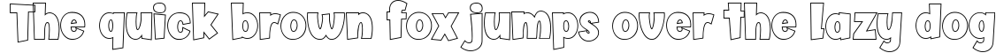 Example 121 of  Font