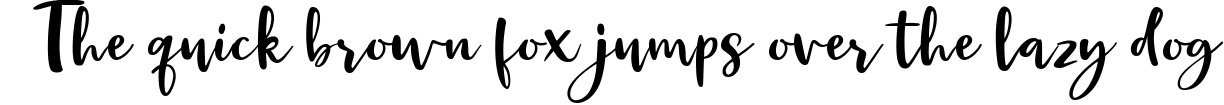 Example 196 of  Font