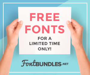 Free Fonts for a Limited Time