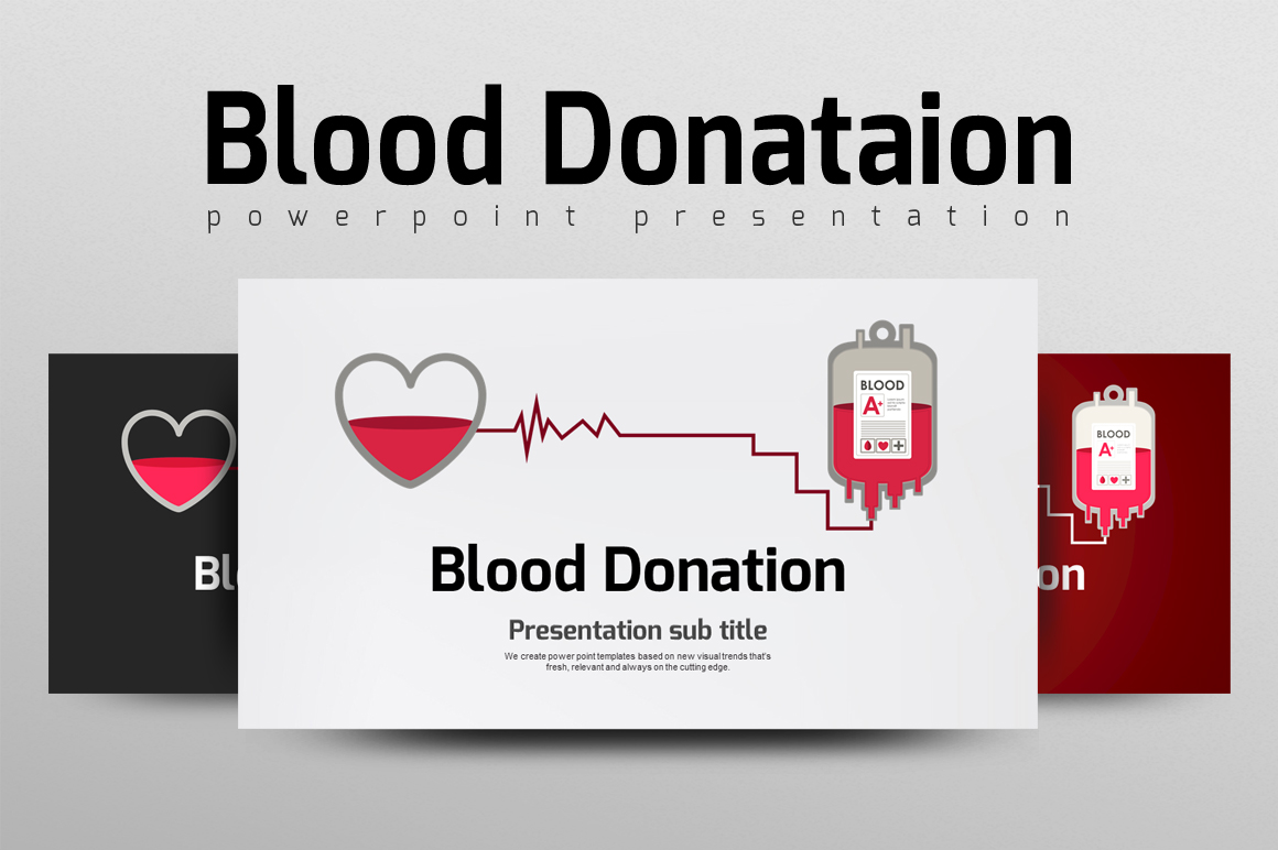 Blood donation ppt by goodpello design bundles for Blood ppt templates free download