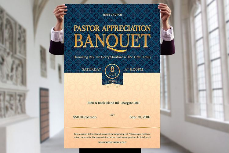 pastor appreciation banquet template ki