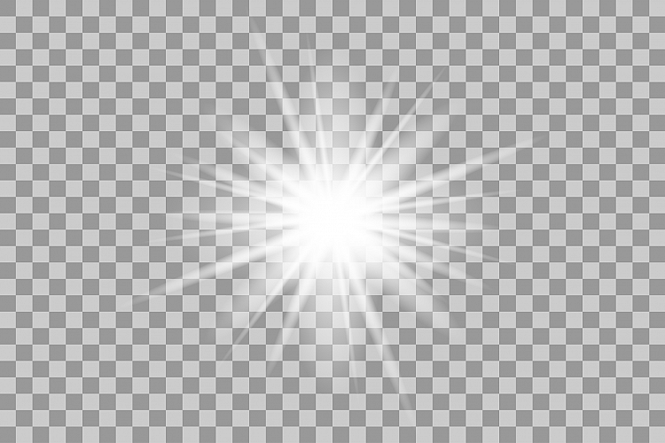 vector white light effects  flash  by e