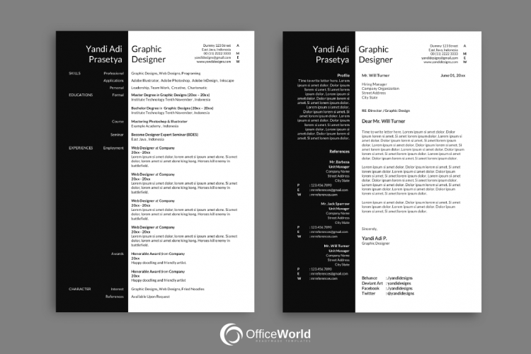 writing resume in open office writer vs writing in microsoftword